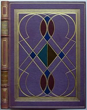 Fêtes galantes. Avec trente et une lithographies: Verlaine, Paul.