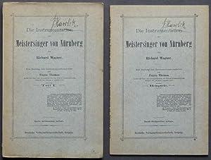 Die Instrumentation der Meistersinger von Nürnberg von Richard Wagner. Ein Beitrag zur ...
