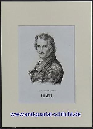Brustbild en face. Bezeichnung unterhalb der Darstellung: C. Rauch.: Rauch, Christian Daniel.