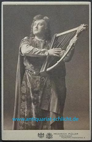 Kabinett-Fotografie von Friedrich Müller (Theodor Hilsdorf), 1911 (kaum sichtbarer Vermerk auf...