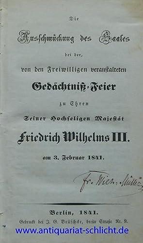 Sammelband mit 22 Schriften zu Erinnerungsfesten der Freiwilligen Jäger.