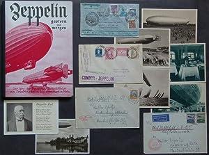 Zeppelin - gestern und morgen. Geschichte der deutschen Luftschiffahrt von Friedrichshafen bis ...