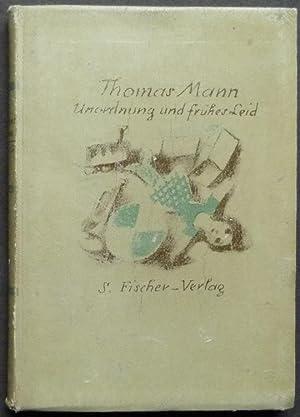 Unordnung und frühes Leid. Novelle.: Mann, Thomas.