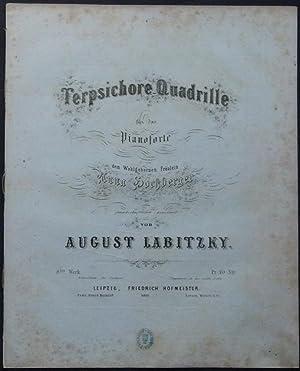 Terpsichore-Quadrille für das Pianoforte dem Wohlgeborenen Fräulein Anna Hochberger ...