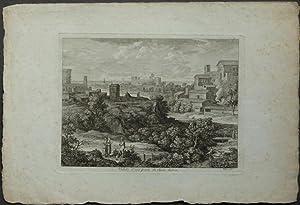 "Vedute d'una parte di Roma Antica"".: Koch, Joseph Anton."