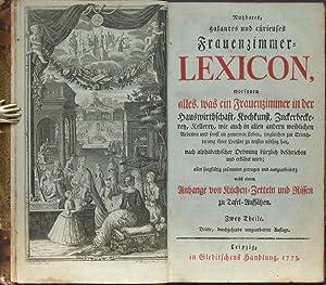 Nutzbares, galantes und cürieuses Frauenzimmer-Lexicon, worinnen alles, was ein Frauenzimmer ...