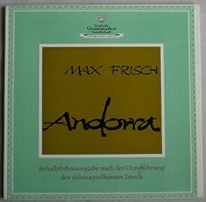 Andorra. Schallplattenausgabe nach der Uraufführung des Schauspielhauses Zürich.: Frisch,...