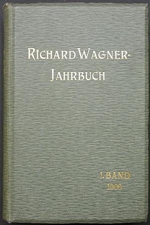Richard Wagner-Jahrbuch. Erster Band.: Frankenstein, Ludwig (Herausgeber).
