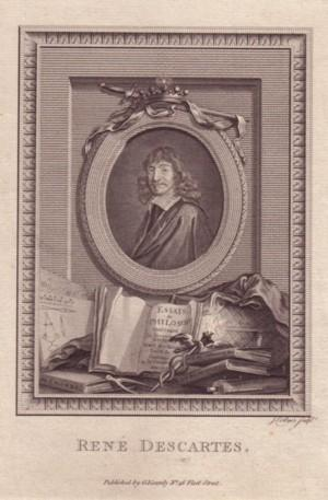 Brustbild nach en face im Oval, im gestochenen Rahmen, unterhalb des Portraits Bücher. ...