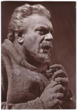 Original-Fotografie von Adolf Falk. Von Josef Greindl auf der Bildseite eigenhändiger Widmung ...