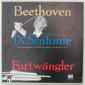 Beethoven, Ludwig van: Sinfonie Nr. 9 d-moll op. 125 (Olsen 253). Wilhelm Furtwängler ...