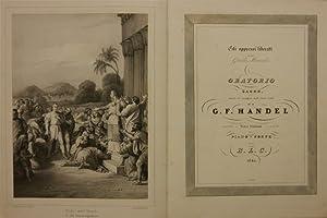 Gli oppressi liberati o sia Giuda Maccabeo. Oratorio sacro, posta in musica nell'anno 1746 da ...