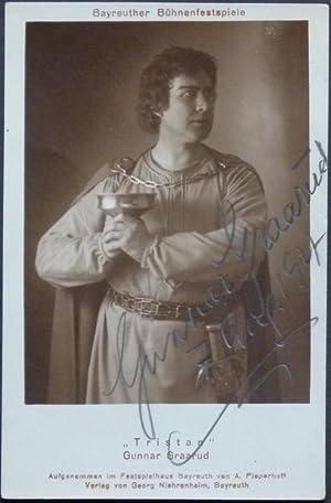 Original-Fotografie von A. Pieperhoff. Von Gunnar Graarud mit Bleistift auf der Bildseite eigenh&...