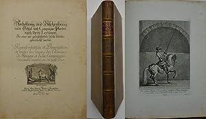 Vorstellung und Beschreibung derer Schul und Campagne: Ridinger, Johann Elias.