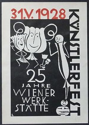 25 Jahre Wiener Werkstätte. Künstlerfest 31.V.1928.: Likarz, Maria.