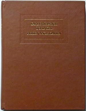 Reisen nach Italien. Tagebücher Briefe Zeichnungen Aquarelle. Herausgegeben von Gottfried ...