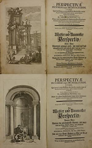 Perspectivae pictorum atque architectorum, I. (II.) pars, . Der Mahler und Baumeister Perspectiv, ...