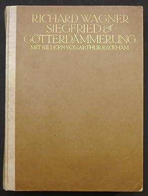 Der Ring des Nibelungen. Ein Bühnenfestspiel für: Rackham. - Wagner,