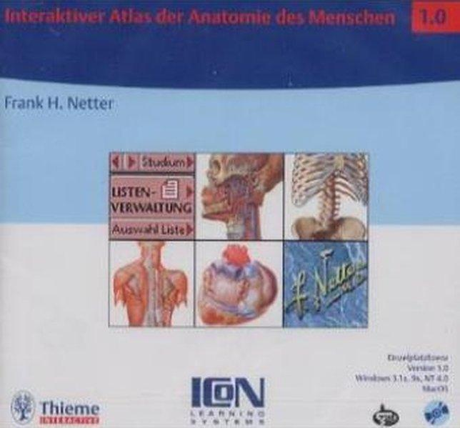 3131109610 - Interaktiver Atlas der Anatomie des Menschen. CD- ROM ...
