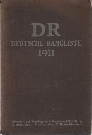 Deutsche Rangliste, umfassend das gesamte aktive Offizierskorps (.) der deutschen Armee und Marine ...