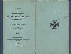 Geschichte des Feldartillerie-Regiments Prinzregent Luitpold von Bayern (Magdeburgischen) Nr. 4. ...