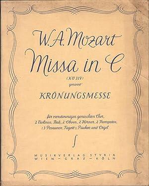 Missa in C (KV 317), genannt Krönungsmesse,: Mozart, W. A.: