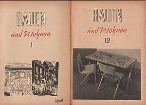 Bauen und Wohnen: Zeitung für das gesamte Bauwesen - Jahrgang 3, 1948, Heft 1-12 in 9 Heften (...
