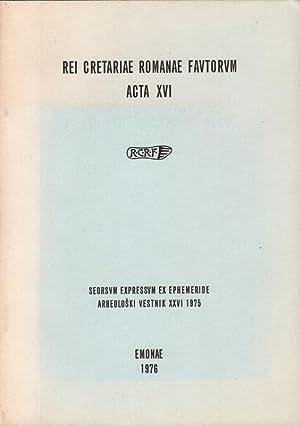 Rei Cretariae Romanae Fautorum Congressus IX, Emoniae: Div. Autoren: