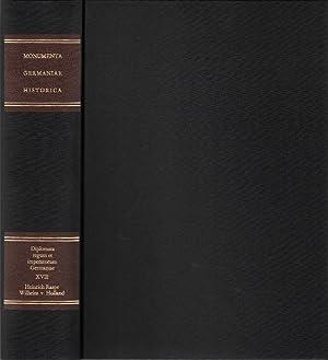 Die Urkunden der deutschen Könige und Kaiser, 18. Band, 1. Teil: Die Urkunden Heinrich Raspes ...
