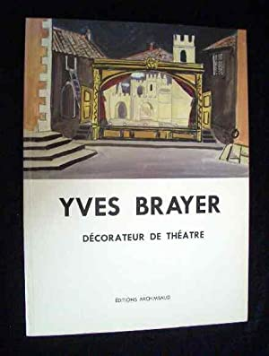 Yves Brayer. Decorateur de Theatre.