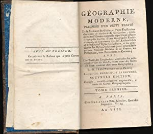 Géographie Moderne, Précedée d'un petit traité de la Sphère...