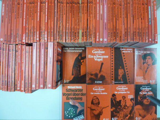 Konvolut Goldmann Taschen Krimi - 77 Stück,: Goldmann Verlag,