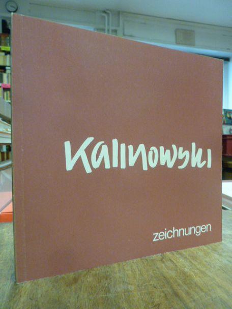 Kalinowski - Zeichnungen, (signiert), Kunstmuseum Düsseldorf, 25.: Kalinowski, H. E.