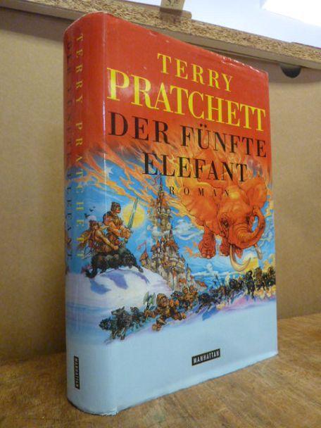 Der fünfte Elefant - [24.] Roman [aus der Scheibenwelt], Deutsch von Andreas Brandhorst, - Pratchett, Terry,