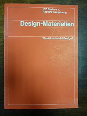 Design-Materialien: Was ist Industrial Design?,: