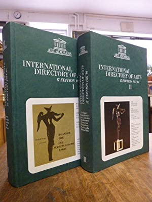 International Directory of Arts 1985/86 = Internationales Kunst-Adressbuch = ., Band/...
