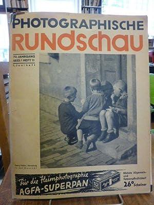 Photographische Rundschau und Mitteilungen, 70. Jahrgang, Heft: Matthies-Masuren, F. (Hrsg.),