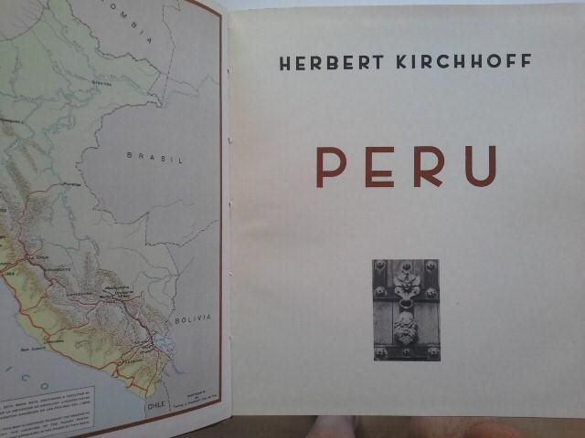 Peru: Kirchhoff, Herbert: