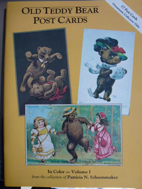 Old Teddy Bear Postcards in Color: 001: N. Schoonmaker, Patricia: