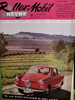 Roller Revue Heft 11 von 1956 IFMA: Buchdruckerei und Verlagsanstalt