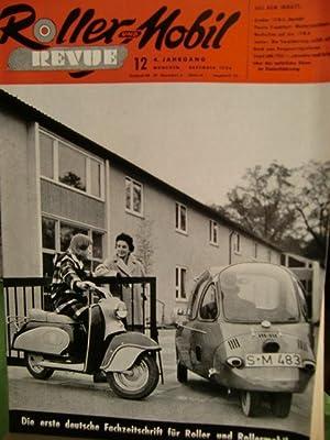 Roller Revue Heft 12 von 1956 IFMA: Buchdruckerei und Verlagsanstalt