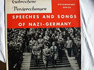 Speeches and Songs of Nazi-Germany 1933 - 1945. 1 Langspielplatte