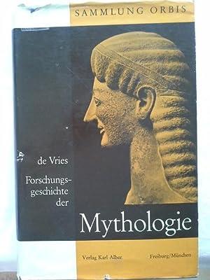 Forschungsgeschichte der Mythologie: Vries, Jan de: