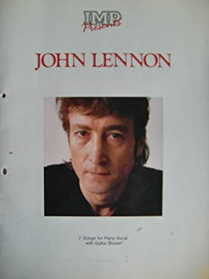 IMP presents John Lennon: 7 songs for piano vocal with guitar boxes