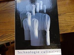 Technologie culinaire : theorie at pratique de: Eugen Pauli