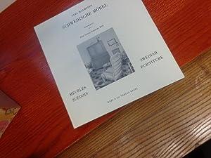 Schwedische Möbel. Meubles Suedois. Schwadisch Furniture: Carl Malmsten Paul