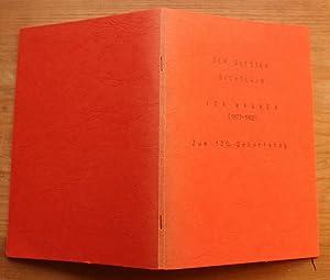 Der Soester Dichterin Ida Wagner (1877-1962) Zum: Berbecker, Ingeborg