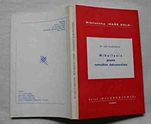 Mihailovic prema nemackim dokumentima: Avakumovic, Ivan