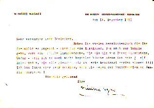 Maschinengeschrieb Brief Mit Zvab