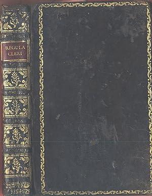 Regula cleri ex sacris litteris, sanctorum patrum: Salamó, Simon ;